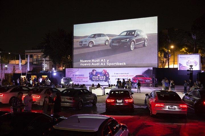 Audi nos llevó a la premier de Civil War y hoy presenta…