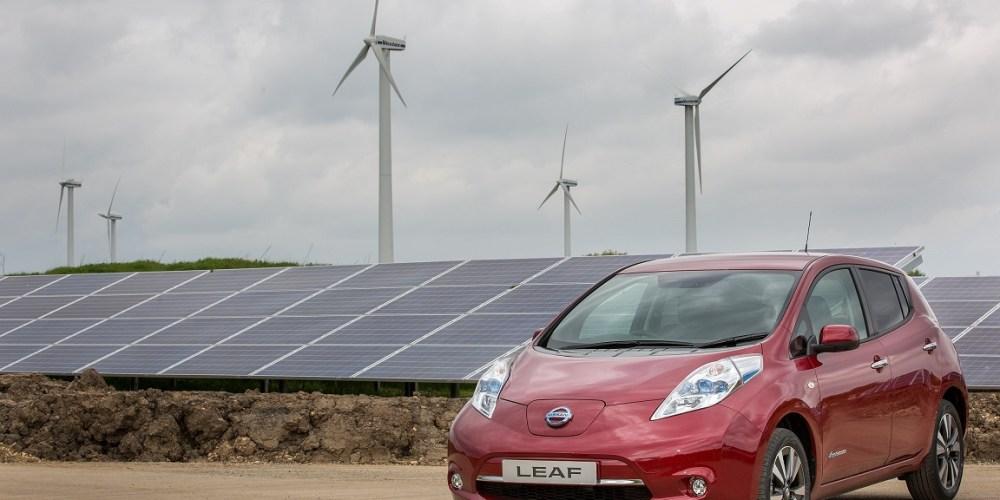 Nissan integra un parque de energía solar