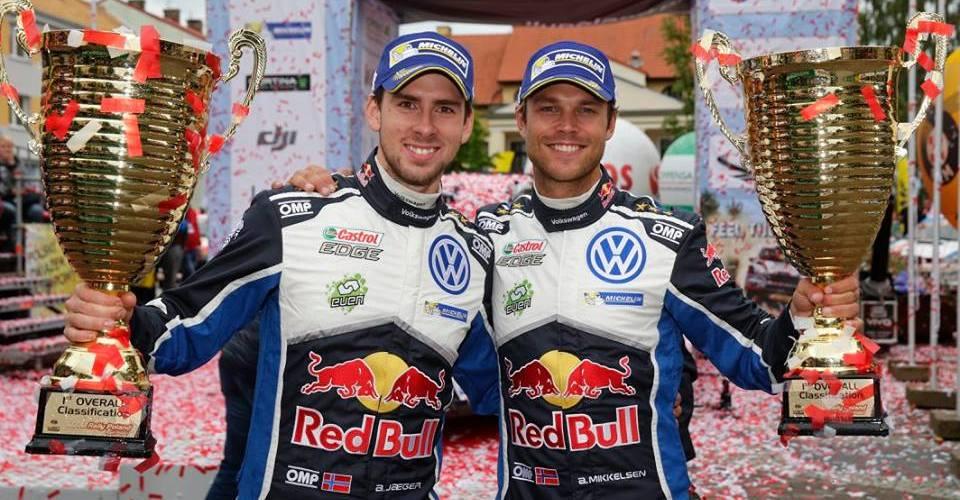 Andreas Mikkelsen logra su segunda victoria en el WRC