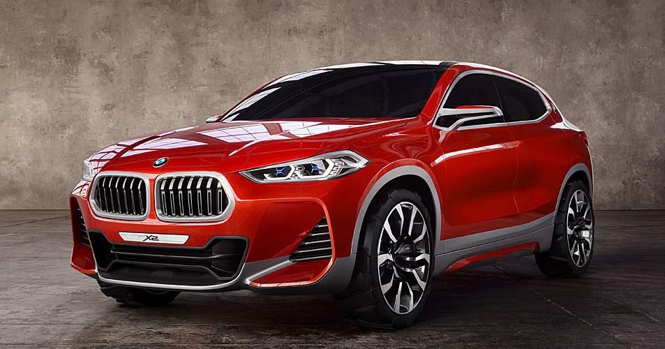 Auto Show de París: BMW X2 Concept