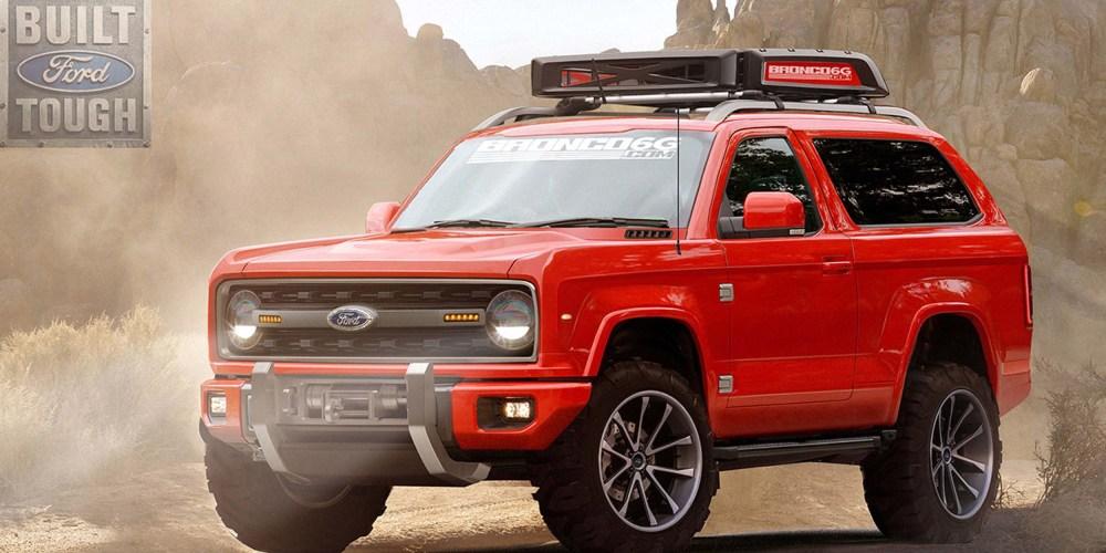 Ford Bronco será una realidad