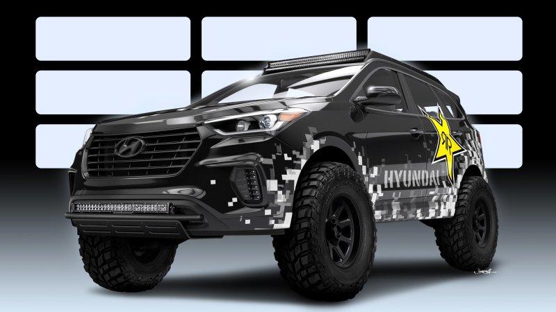 Se acerca el SEMA Show de Las Vegas y Hyundai lo sabe