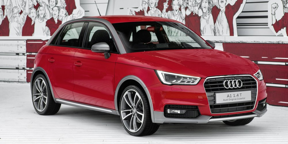 Audi Genuine Accessories A1 Sportback active kit
