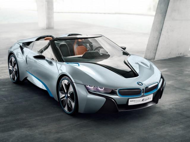 BMW i8 Spyder será realidad en 2018