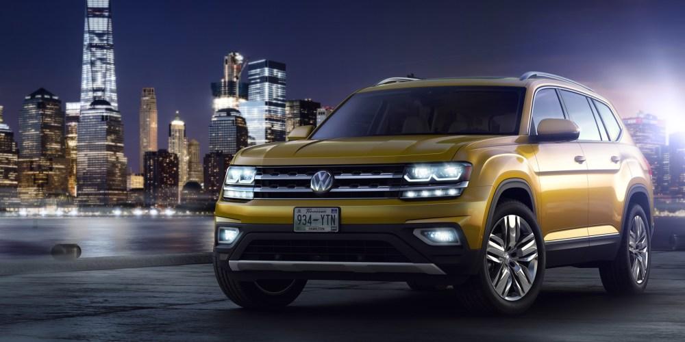 Atlas, el nuevo crossover de Volkswagen