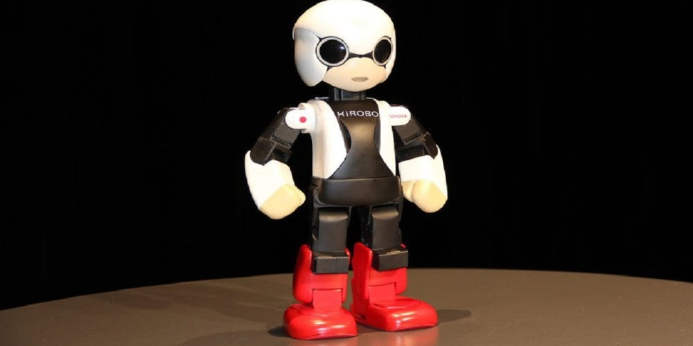 Kirobo Mini, el robot parlante de Toyota