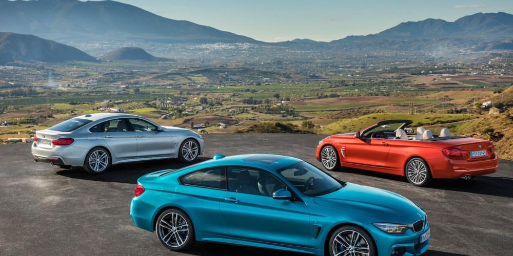 BMW Serie 4 2017, se actualiza