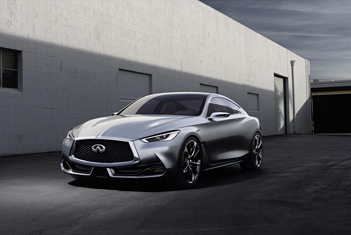 Infiniti has set out to captivate the imagination and exhilaration of sports coupe fans with the stunning Q60 Concept. Premiered at the 2015 North American International Auto Show, the two-door concept hints at Infiniti's next sports coupe.