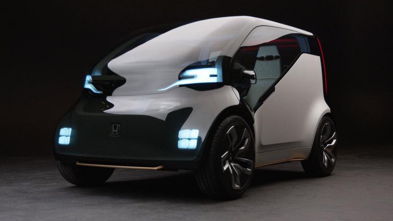 CES 2017: NeuV mini-EV de Honda