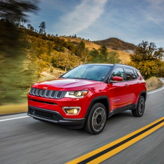 All-new 2017 Jeep® Compass Limited
