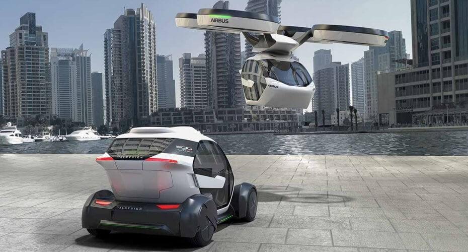No es un auto, es un dron… Pop.Up