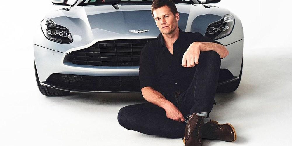 "Tom Brady nueva ""cara"" de Aston Martin"