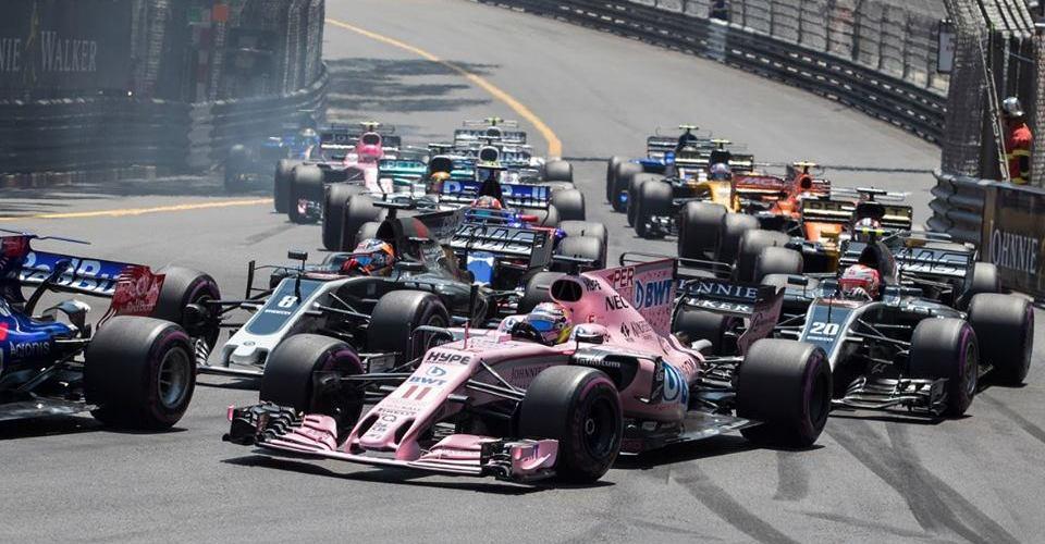 Checo Pérez y su último podio en Montreal