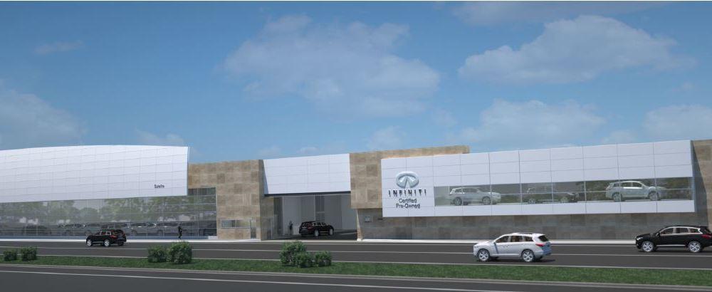 INFINITI inaugura el Centro Satélite, el más grande de México y de América Latina