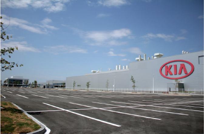 KIA celebra un año de producción de vehículos en México