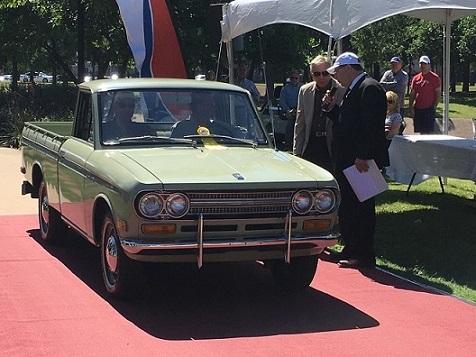 Datsun Pick Up 521, de lo mejor en Concurso de Elegancia en Texas