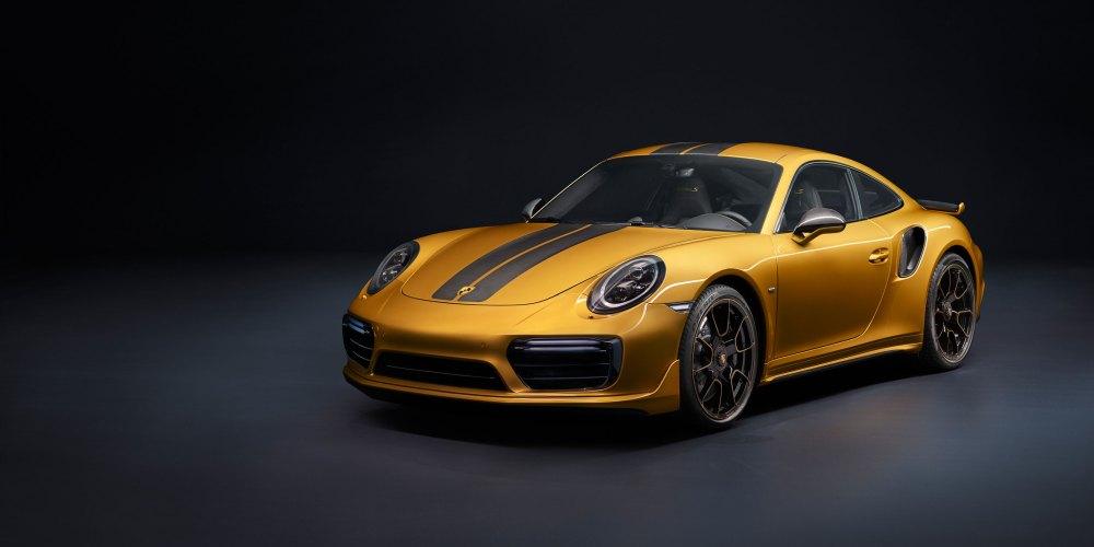 Porsche 911 Turbo S Exclusive Series: Único.