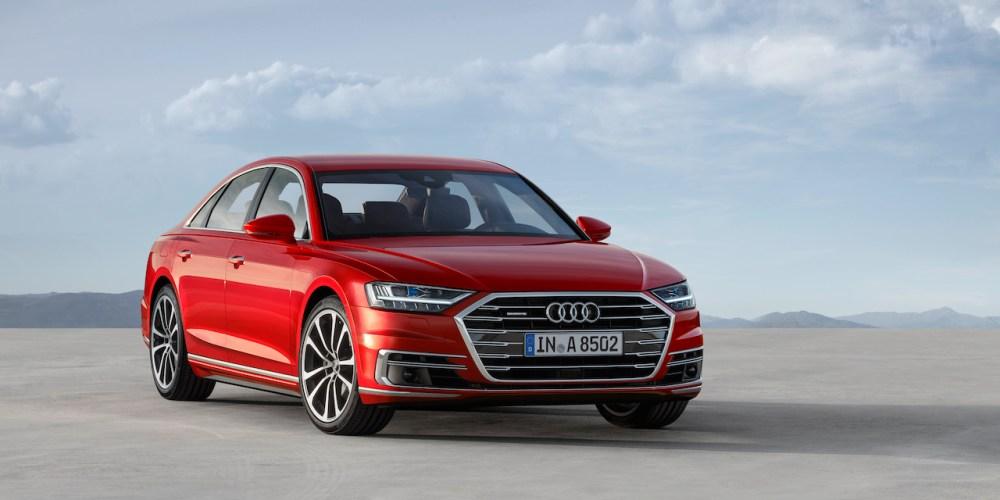 El nuevo Audi A8 desde Barcelona, España