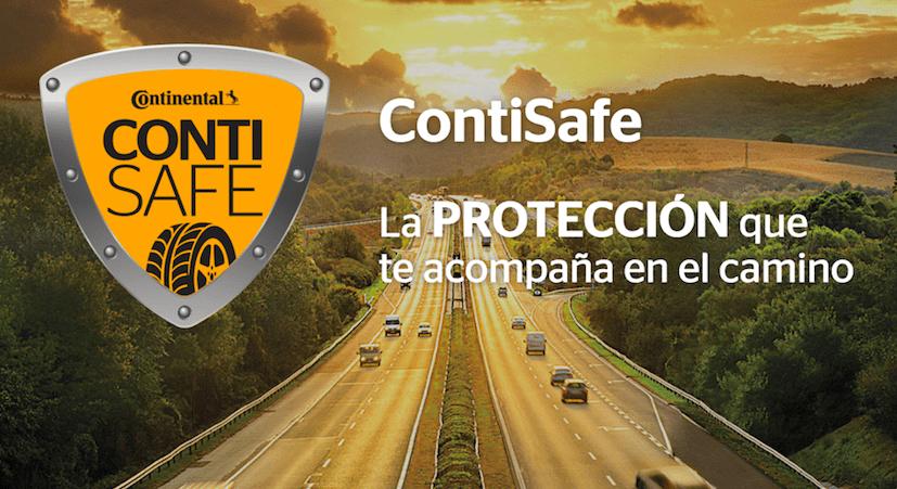 Con ContiSafe, una llanta ponchada ¡no arruinará tus vacaciones!