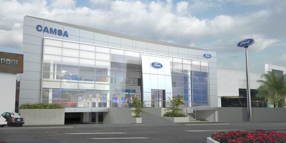 Ford de México se pone al día con nueva imagen en sus dustribuidores