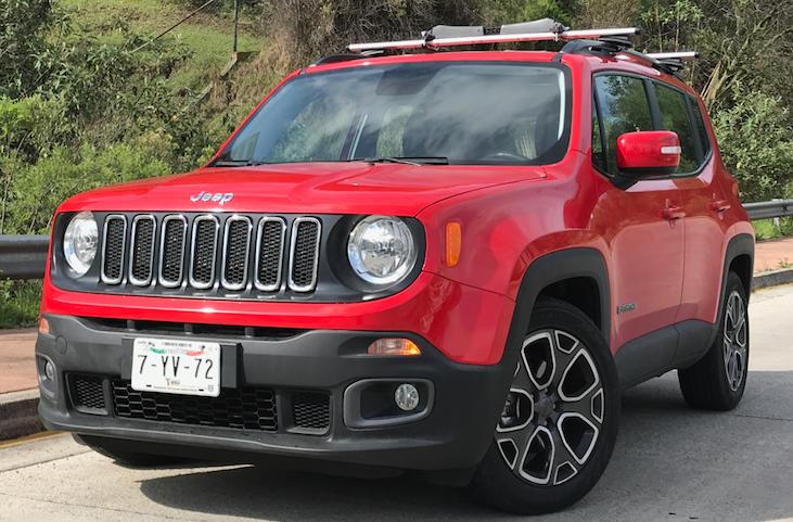 A prueba, Jeep Renegade 2017, listo para conquistar el asfalto