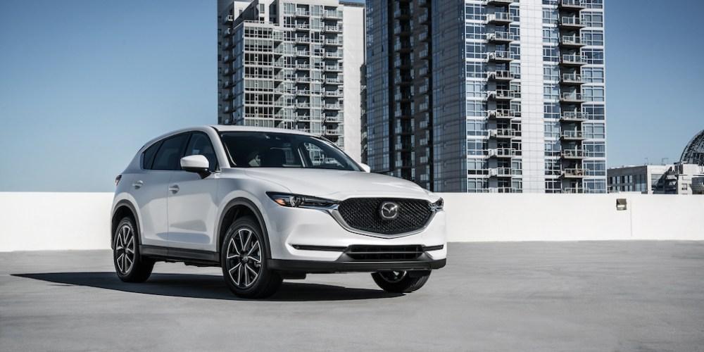Mazda logra el TOP SAFETY PICK+ en todos los modelos 2017