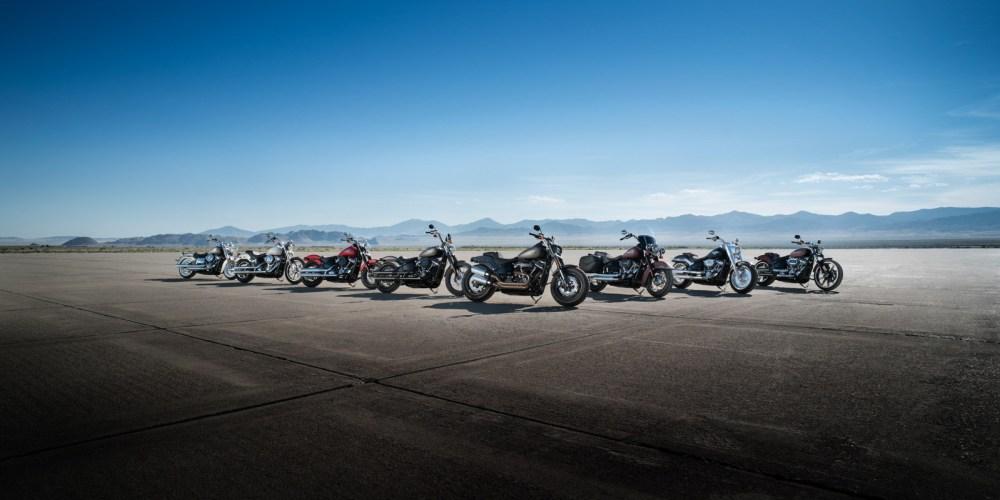 Harley-Davidson presenta ocho nuevos modelos Cruiser 2018