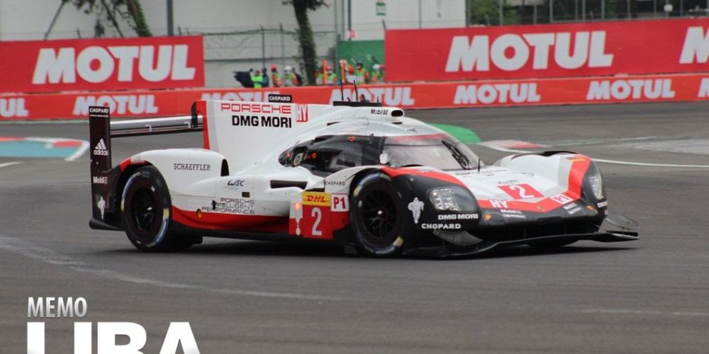 Porsche arranca en la pole en las 6 Hrs de México