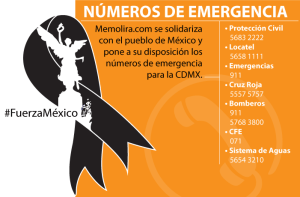 Viva la ayuda y el amor por México #SismoMéxico2017