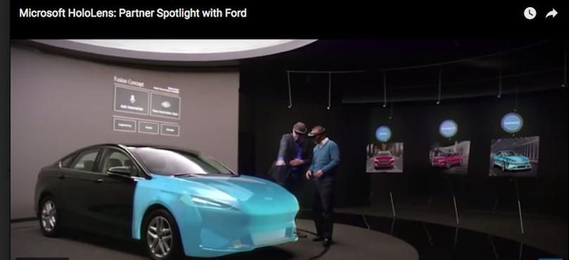 Ford trae HoloLens a Design Studio de Microsoft