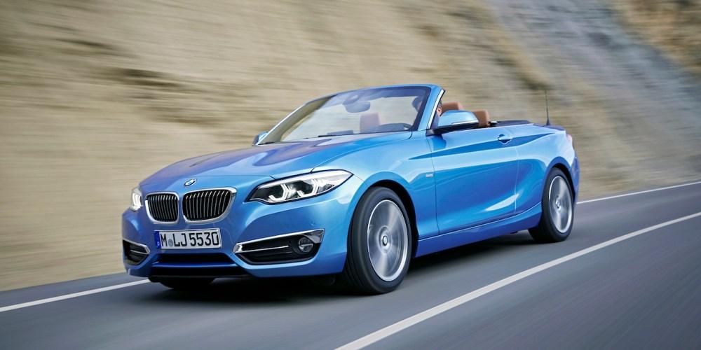 Así es el nuevo BMW Serie 2 Convertible