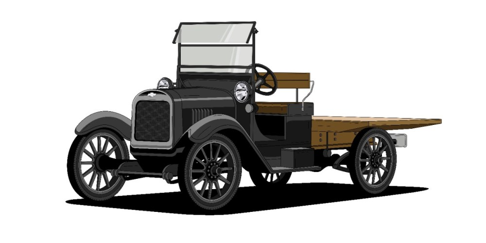 Chevrolet celebra 100 años del icónico diseño de sus  pickups