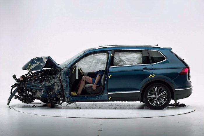 ¿Tu auto te protege durante un choque?