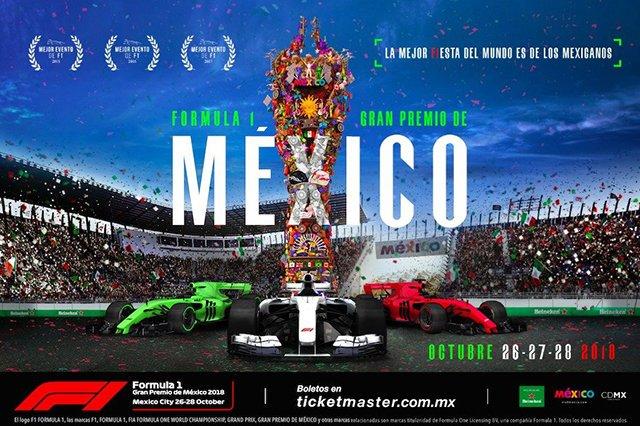 Se presentó el Gran Premio de México de la Fórmula 1