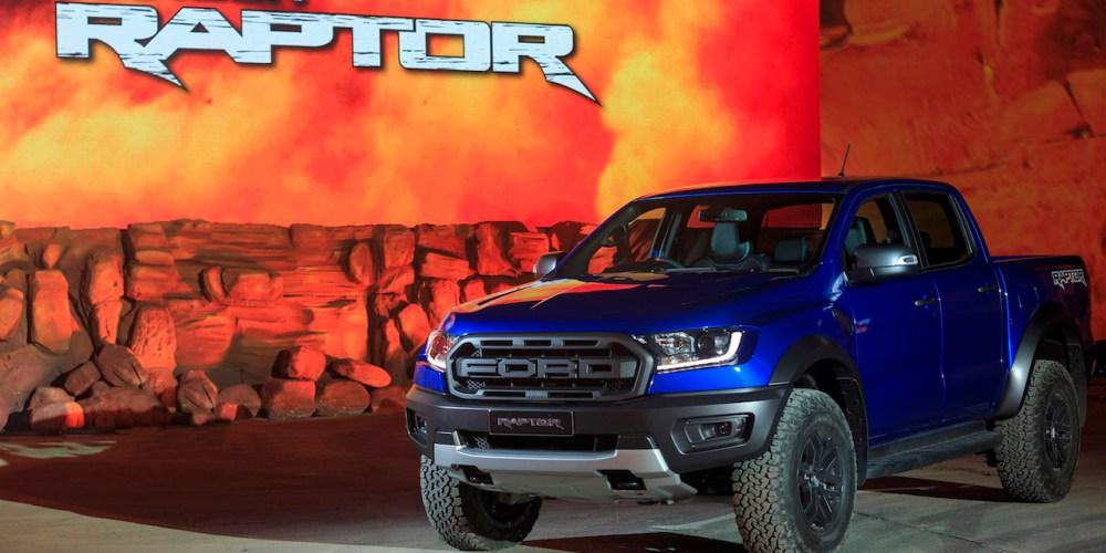 Ford Ranger Raptor, desde Tailandia para América