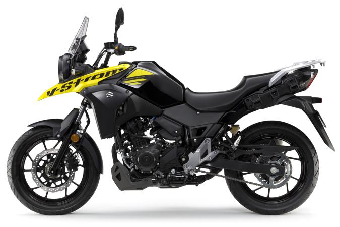 Suzuki VStrom250 left