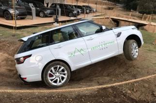 Jaguar y Land Rover se lucieron en el Gran Concurso Internacional de la Elegancia