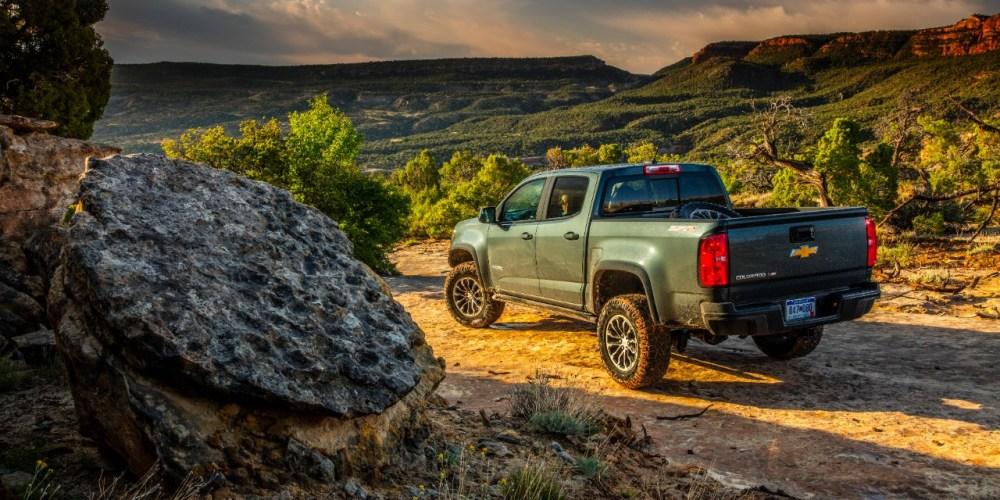 Chevrolet Colorado ZR2 nombrado ganador del premio 2018 Autotrader Must Test Drive