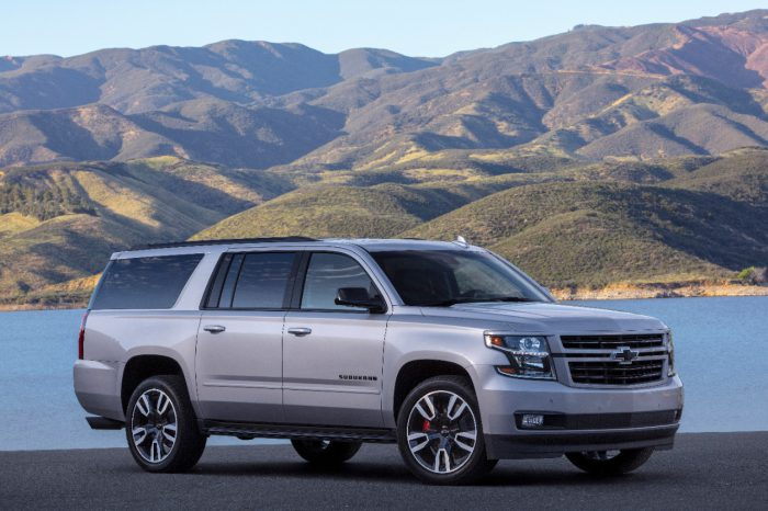 Chevrolet Suburban 2019, RST Performance Package