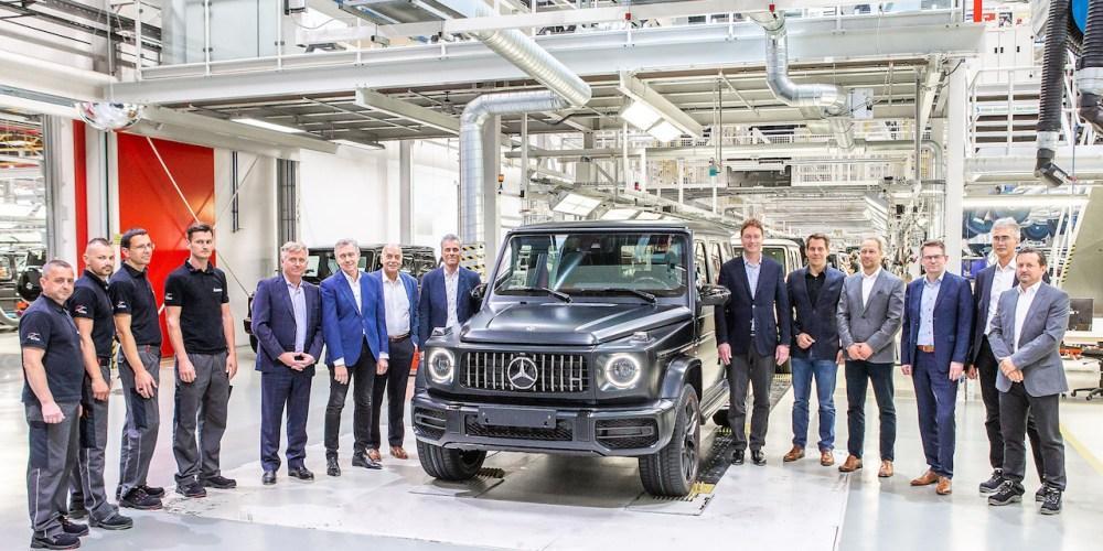 Mercedes-Benz G-Class, inicia producción en Graz, Austria