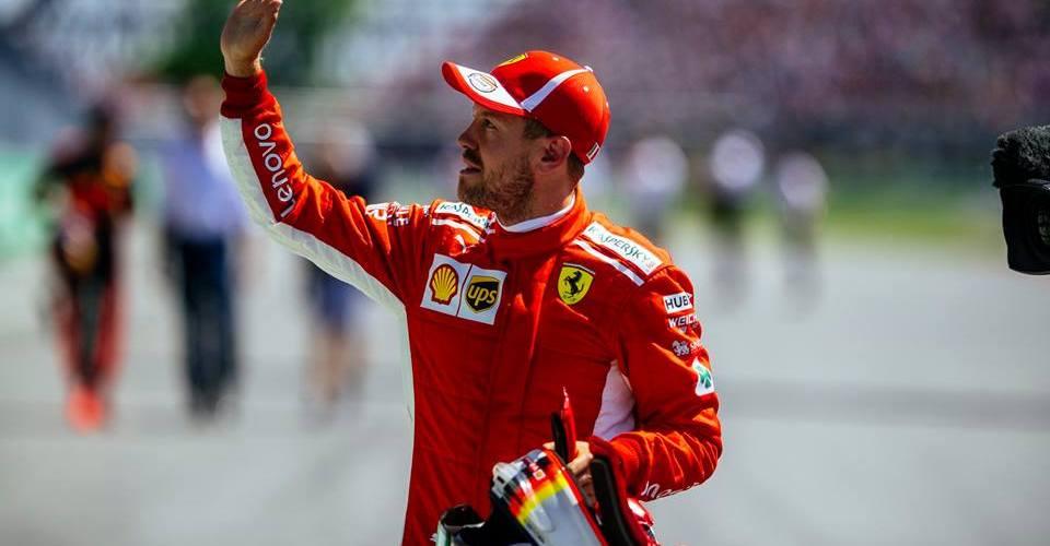 Vettel con pole récord en Montreal