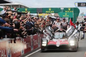 Toyota consigue su primer triunfo en las 24 Horas de Le Mans