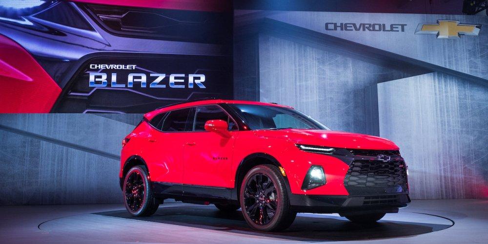 Chevrolet Blazer 2019, lanzamiento internacional