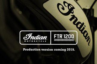 Indian Motorcycle producirá la FTR™ 1200 y tú puedes ganarte una