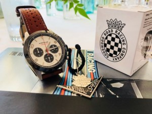 """Spirit of Racing"" Montblanc el juez del tiempo en Goodwood FOS"