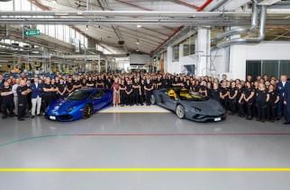Lamborghini de manteles largos, produce el Aventador número 8 mil y Huracán 11 mil
