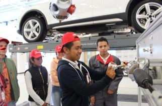 Audi México fomenta el interés en la industria automotriz de jóvenes