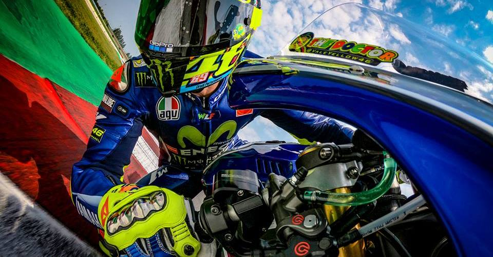 """Rossi, sobre la carrera de México: """"Es un circuito muy malo, es peligroso"""""""