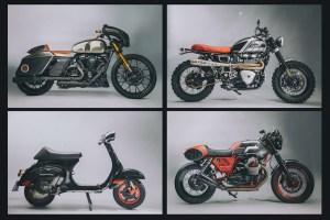 73 Vintage Moto Art, el arte de personalizar una moto