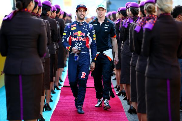 Nico+Hulkenberg+Daniel+Ricciardo+F1+Grand+1q48G3uj0Cll